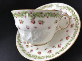 NOW SOLD George jones - Crescent tea cup & saucer